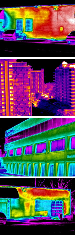 Infrared Thermal Imaging Building Envelope Scans Infrared
